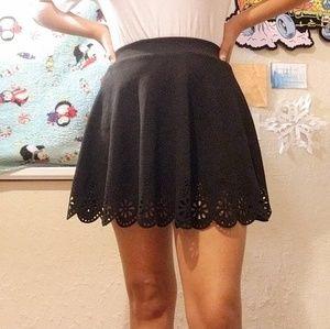 Girls medium black skirt